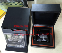 Wholesale High Quality Watch box Brand CAL Original Box Papers Leather bag In Calibre RS2 RS Chronograph Watches