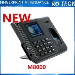 Wholesale KO M8000 Self Service Employee Attendance Tracking Machine NO Software