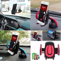 Wholesale Amaze Universal Windshield Rotating Car Mount Holder Adjustable Width Windshield Cradle For Samsung Galaxy S7 edge iphone s plus