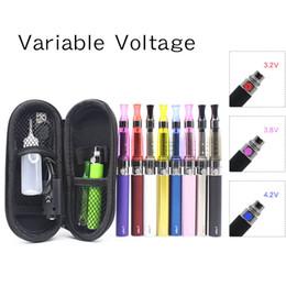 Métal cas ecig à vendre-EGO-T CE5 électronique Cigarettes Kit EGO Ecig Kits variable Tension Bttery 650mAh 900mAh 1100mah C5 atomiseur avec Zipper Case