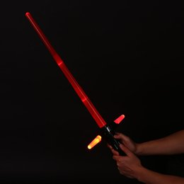 Canada 2016 New Fashion Magic Star Wars The Force Awakens Kylo Ren Lightsaber LED Jouet son épée pour Kid Offre