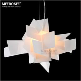 Wholesale Modern Irregular Foscarini Big Bang pendant Lighting Fixture Art suspension Lamp drop White Red color lamp for Dining room