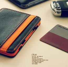 Wholesale Wallets Holders Wallets Mens Magic Wallet Flip Leather hilarious mini Wallets Ultra Slim Line Credit men Pouch short design bus card bag