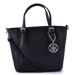 Wholesale hotsale fashion women shoulder bag Delaney Cross pattern Petite Tote Handbag With Crossbody Strap Colors SKUGU027