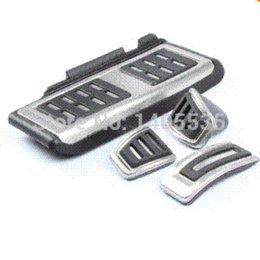 Wholesale Car Foot Fuel Brake Clutch pedals Cover for Volkswagen VW GOLF GTi MK7 Skoda Octavia A7 auto accessories