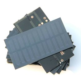 Wholesale Hot Sale Solar Cell W V Mini Solar Panel Solar System For DIY Toys Charger Education Kits MM