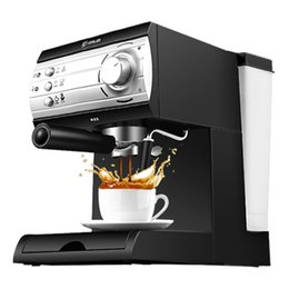 Wholesale The espresso machine use commercial semi automatic instant steam double charged