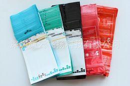Usb de la caja de plástico en venta-16 * 9cm de la cremallera de plástico paquete al por menor de embalaje bolsa de la caja para el auricular del auricular del teléfono Cable USB Accesorios Iphone 6 6S Plus SE 5S Samsung S7 S6