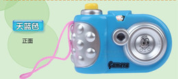 Package electric cartoon factory direct light projection camera reflex camera toys children's educational small gifts wholesale
