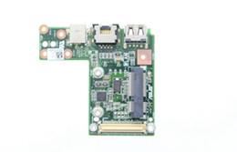 Wholesale U30JC LAN BOARD for ASUS U30SD U30JC U40SD Series Laptop Power Board LAN USB2 CR2032 Together