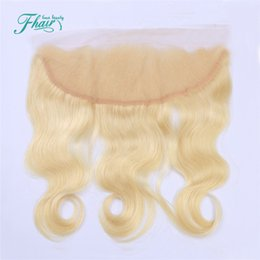 613 Blonde Lace Frontal 13*4 Lace Closure Body Wave European Hair 613# Berrys New Arrival Human Hair Lace Frontal