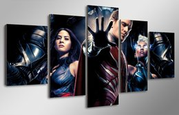 Free Shipping 5 panel HD Printed The Moviex men apocalypse Painting Canvas Print room decor print poster picture canvas