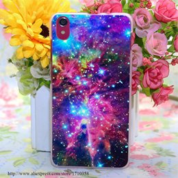 Wholesale astral nebula i Style Transparent Hard Case Cover for Lenovo S850 S850T S60 S90 A563 A328 A328T