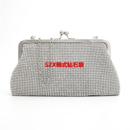 Diamonds women evening bags small purse clutches handbags silver   gold   black rhinestones evening bags for wedding tote packet