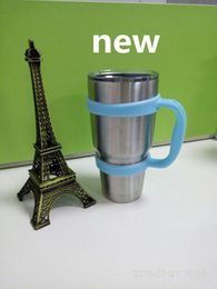 Wholesale Portable Double Wall Car Cups Handles many colors cups handle for oz YETI cups Rambler Tumbler New Arrival