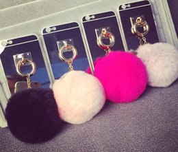 Wholesale Factory Price New Iphone Case Soft TPU Protective Case Cover with Furry Fur Ball Iphone s SE Iphone s plus Cute Iphone Case DHL