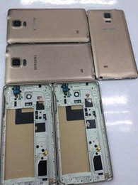 Wholesale Samsung Galaxy Note4 N910 Housing Original Orse Golden Color Single Sim The Best Gaulity Hot Selling