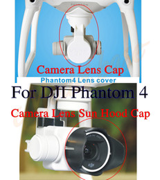 Wholesale DJI Phantom Professional Advanced Camera Lens Cap Protector with Gimbal Stabler Lock Camera Lens Sun Hood Sunshade Cap
