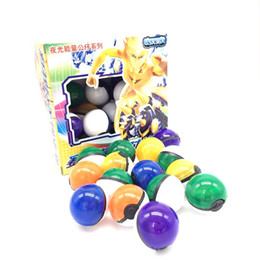 Wholesale 36Pcs ABS classic Action Anime Figures Poke balls PokeBall Fairy Ball Super Ball Master Ball Kids Toys Gift in stock
