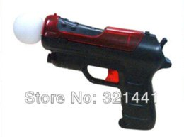 Wholesale New Light Shooting Gun Shell Pistol For Sony PS3 Playstation Move Controller Game pistol gun games