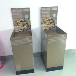 Wholesale 2016 Cheaper Price cardboard Dump Bin Display for Bread Display Cabinet