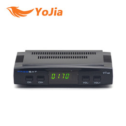 Wholesale 20pcs Genuine Freesat V7 hd DVB S2 Satellite TV Receiver Support Power Vu Biss Key Cccamd Newcamd Youtube Youporn Set Top Box