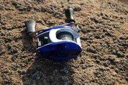 Wholesale Débutant Baitcasting Pêche droite Reel R Main Bait Cast lure Fishing Tackle Low Profile Taille cm