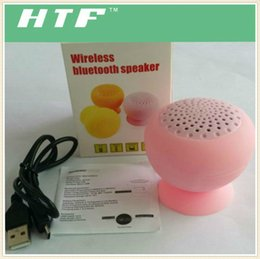 Mini Mashroom portable wireless bluetooth music mini speaker stereo HIFI handfree waterproof bluetooth speaker with retail box