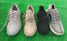 Wholesale PU Shoes Turtle Dove sneakers fashion footwear shoes Kanye Milan West Shoes Boost with sock keychian size US4