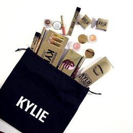 Wholesale Kylie Jenner Lipkit Lord Metal Gold the Limited Edition Birthday CONFIRMED Matte Lipstick lip Kit Cosmetics lipstick set clone
