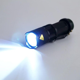 2000lm LED Flashlight LED CREE Q5 Mini Bicycle Light LED Bike Light Front Torch 3 Modes Zoomable Light Waterproof