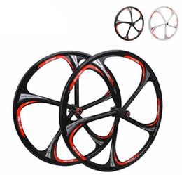 Wholesale MIEJUN Inch Mountain Bike Wheels Disc Brakes Cassette Hub Spokes Wheels Peilin Bearing One Magnesium Alloy Wheel