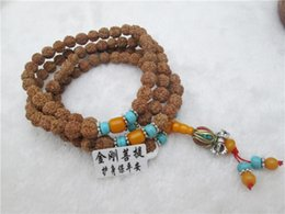 Manufacturers Selling 108 Grains of Nepal Bodhi Beads Polished Diamond Boutique Small Vajra Bodhi Beads Bracelet