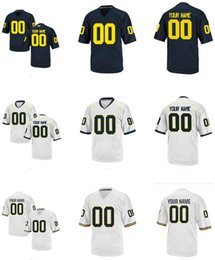 Men's Women Youth Kids Michigan Wolverines Personalized Customized College Cheap jersey White Navy Blue Top Quality Drop Shipping jerseys