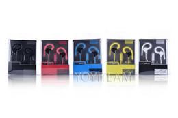 El bajo piso en venta-Auriculares universales del gancho del oído con el micrófono se divierte el receptor de cabeza de la música fuerte del receptor de cabeza JY-A2 en el oído para el teléfono móvil del mp3 del teléfono móvil del iphone Samsung