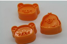 Wholesale DIY Kawaii SAN X Rilakkuma Bear Chicken Mould Mold Baking Cookie stamps Mold Mould Shaper Kit Kitchen KIT TOOL one Set
