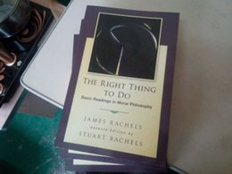 Wholesale 2015 books USED The Right Thing To Do Basic Readings in Moral Philosophy