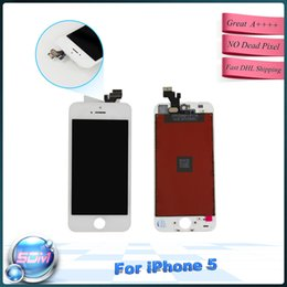 Wholesale 10pcs for Iphone Quality assured LCD Display with touch screen Digitizer Assembly replacement
