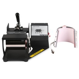 Wholesale VEVOR Good Prices Two Mug Heat Press Machines Digital Coffee Cup Latte Mug Heat Press Transfer Sublimation Machine v