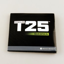 Wholesale Newest Workout DVD T25 GAMMA DVDs fitness Fast Shipment Slimming Training Set Alpha Beta Gamma Core Speed Workout DVD