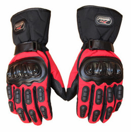 New MAD-BIKE thick waterproof motorcycle gloves warm cold winter outdoor windproof motorbike gloves black blue red color size M L XL XX