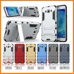 Hybrid Armor Iron Man Shockproof Case for iPhone X XR XS Max 7 Samsung Galaxy S8 S9 Note 8 9 Kickstand