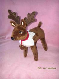 Wholesale 2016 Hot Elf Pet on the Plush Pets Reindeer Cristmas Plush Toys A Christmas Xmas Toy Gift