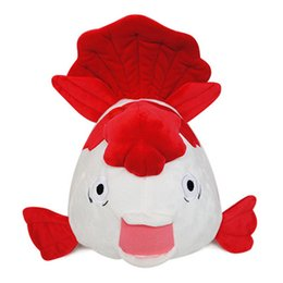 Wholesale Cartoon Movies TV light cold butcher goldfish Comfort Stuffed Soft Plush Dolls Toy and Valentine s day gifts