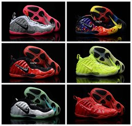 Wholesale 2016 New Colors Air Foamposites Penny Hardaway Basketball Shoes For Men Top Quality One Pro Foamposite Sport Sneakers Eur Size