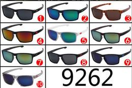 Wholesale 9262 Outdoor Sports Sunglasses Men Women Brand Designer Quality Running Fishing Golf Sun Glasses