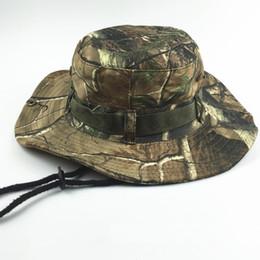 Promotion cap arrondi pour les hommes Men Outdoor tactique Bonnie Casquettes Sport Militaire Camouflage Combat Chapeau de soleil Escalade Pêche visières Round Brim respirante Cap