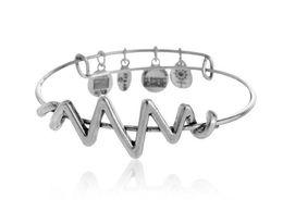 Wholesale Foreign selling Alex and Ani original retro style charm bracelets retro accessories Wheel Pendant Bracelet HJIA356