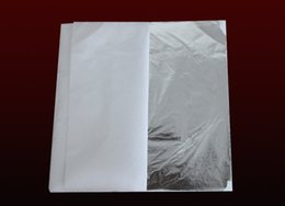 Wholesale 100 sheets X cm Imitation silver leaf sheet foil aluminum leaf