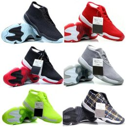 Wholesale New China Jordan Shoes Future Basketball Shoe Lows Men Man Hombre Zapatillas Sports Trainers China Jordans Sneakers Air Futures White Low